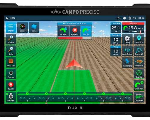 Piloto Automático Campo Preciso Direct Drive y Display DUX 8
