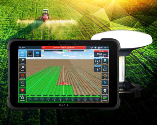 Dux 8 Display De Agricultura De Precisión - Campo Preciso