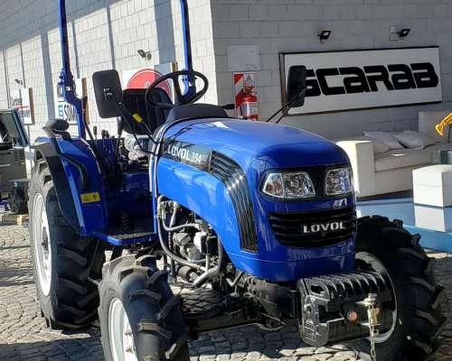 Tractor Lovol TE354 35hp Mecanico Tres Puntos 4X4