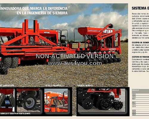 Sembradora de Grano Grueso y Fino Autotrailer MOD:5200