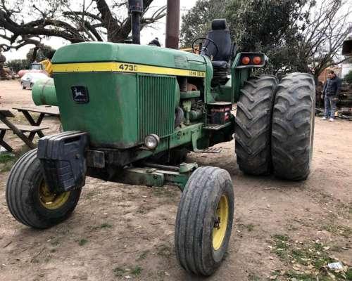 Tractor, John Deere 4730