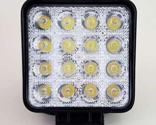 Faro Agricola Alta Potencia 18 LED 48 W