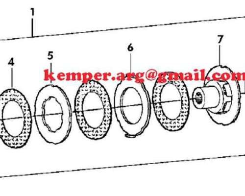 Repuestos de Embragues y Zafes a Resortes Kemper 345 360 375