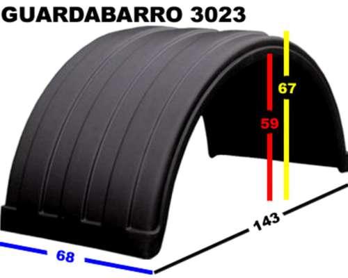 Guardabarros Ford Cargo 1722 Plasticos Traseros Delantero