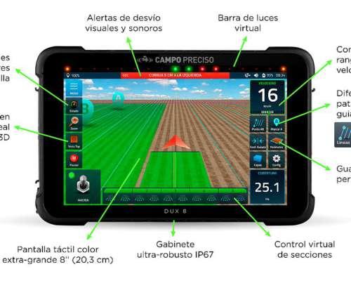 Mapeador Satelital DUX 8 Lite - Agricultura de Precisión