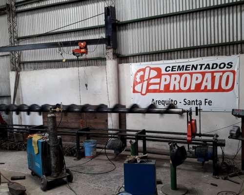 Cementado de Sinfines y Rotores de Cosechadora Axiales, ETS