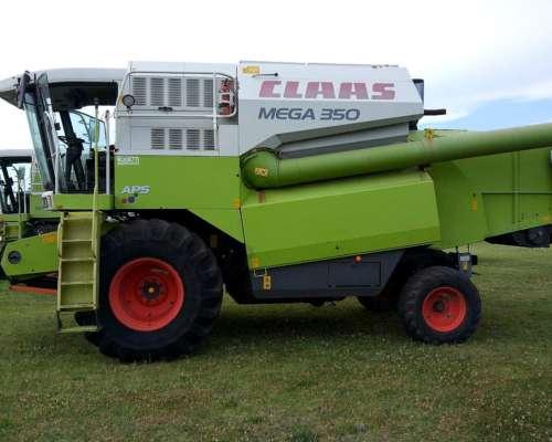 Cosechadora Claas Mega 350