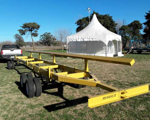 Trailers Carro para Plataforma y Draper 30 a 45 Pies Airasca