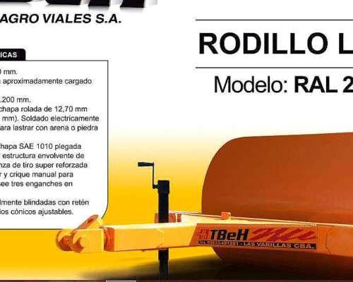 Rodillo Liso RAL 2000 Tbeh 2015
