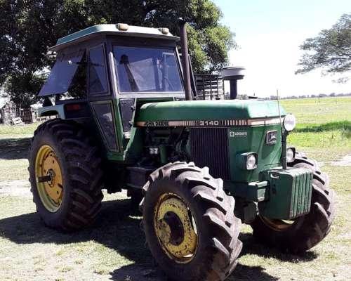 Tractor Jhon Deere 3140 Doble Traccion