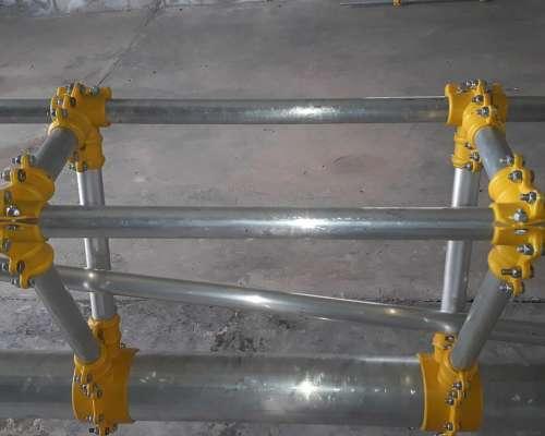 Botalon Central Antirrotura y Barras de Aluminio Albatros