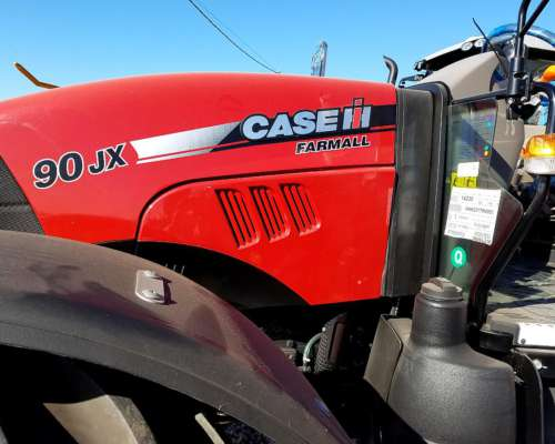Tractor Case JX 90 Doble Traccion 3 Puntos Disponible