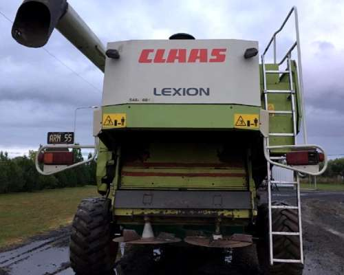 Cosechadora Claas Lexion 480 - año 2003