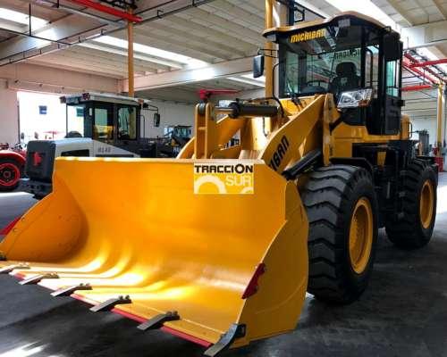Michigan R65c 130 HP Balde 2 MT 4X4 Nueva