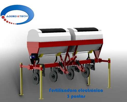 Fertilizadora 3 Puntos - Electrónica