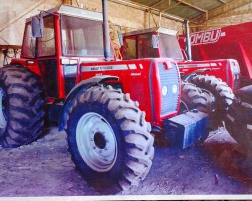 Dos Tractores Massey Ferguson