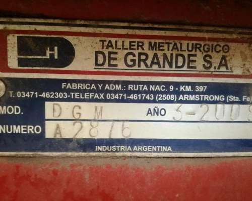 Maicero Degrande 13 Surcos 52 año 2008 $1.050.000