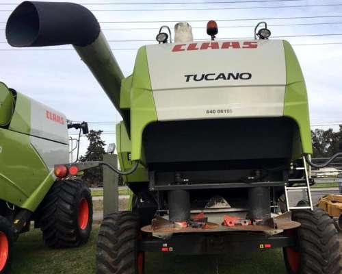 Cosechadora Claas Tucano 470 - año 2010