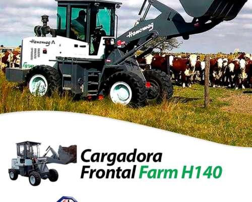 Cargadora Frontal Hanomag Farm 140 0km