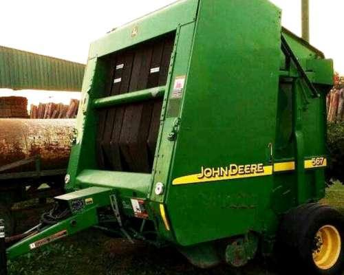 Rotoenfardadora John Deere 567 año 2004