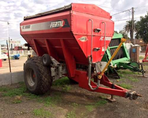 Fertilizadora Fertec 9.000 Litros con Balanza