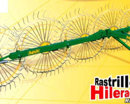 Rastrillo Hilerador Lateral Montado de 4/5/6 Estrellas