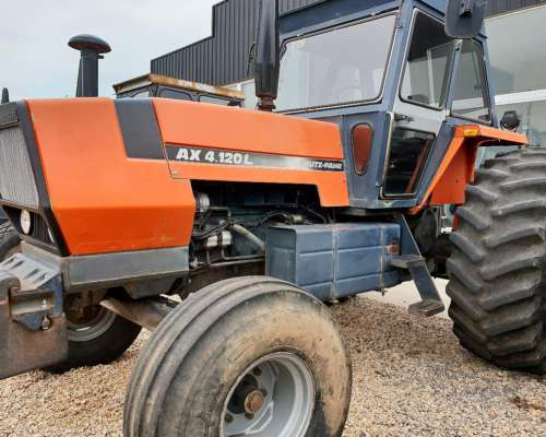 Oportunidad Unica Deutz Fahr AX 4.120 L Original Impecable