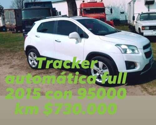 Vendo Tracker 2015 Automatica 4X4 3492302870