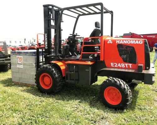Autoelevador Hanomag E248tt 2tn, 4mt Altura Nuevo