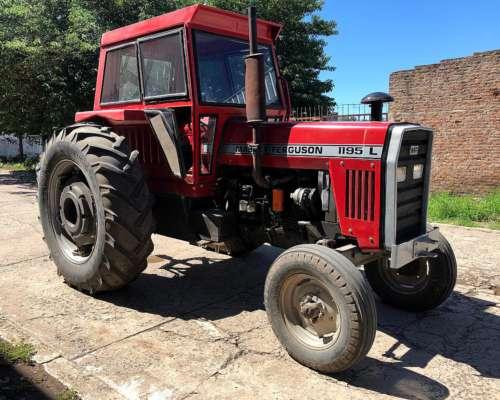 Massey Ferguson 1195l año 1987, Rodado 18-4-38