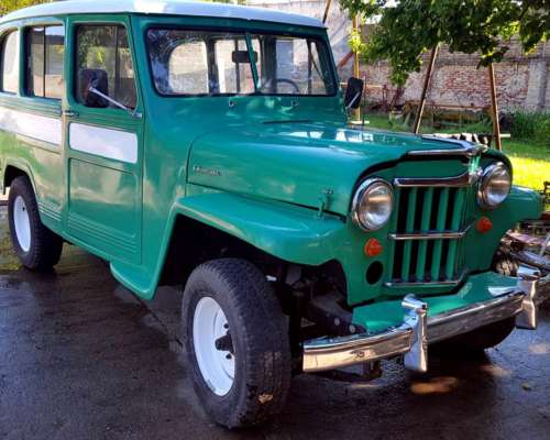Estanciera Mod60 Reacondionada Original Motor Continental