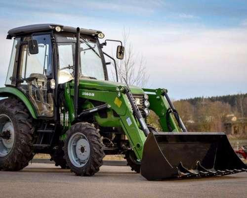 Tractor Doble Tracción C/ Cabina 60 HP Tipo John Deere