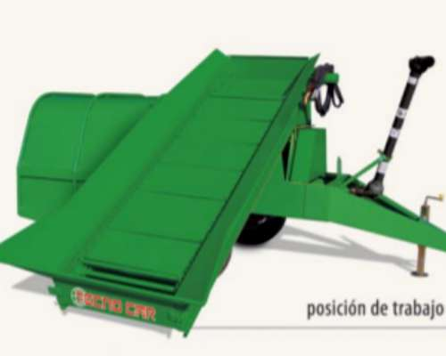 Embutidora de Silo con Acarreador Tecno CAR de 6 Pies