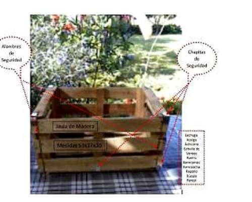 Cajones de madera para embalar verduras y frutas 120 - Cajones de madera para frutas ...