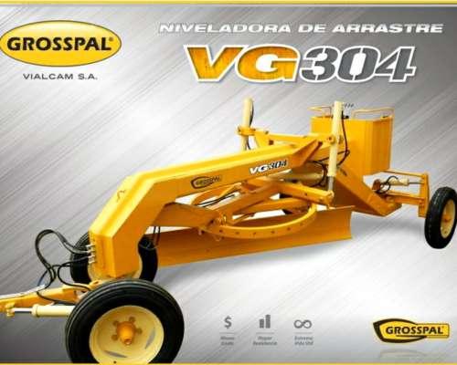 Niveladora de Arrastre VG304 Grosspal