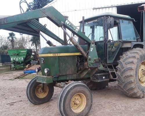 Tractor John Deere 4530 con Pala Frontal, Buen Estado