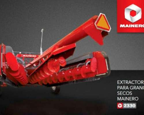 Extractora de Granos Secos Mainero 2330