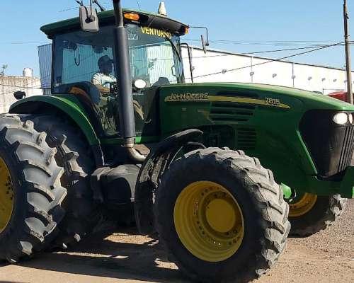 Tractor John Deere 7815, Impecable
