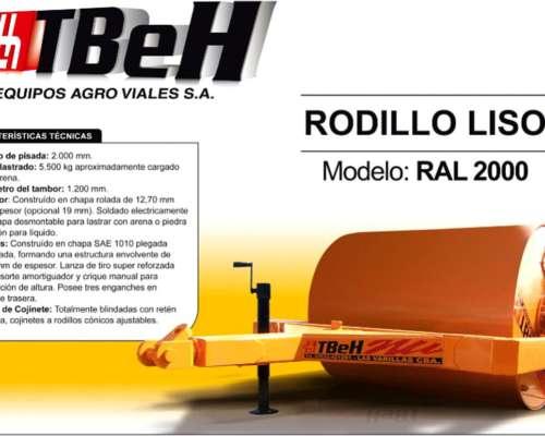 Rodillo Liso - Tbeh