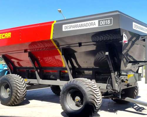 Desparramadora y Fertilizadora de Abonos Organicos DO18
