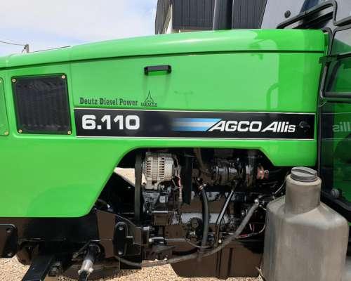 Agco Allis 6.110 Exelente Estado,motor Deutz Aire