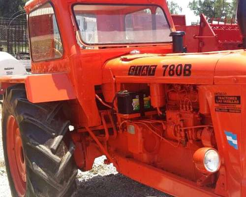 Tractor Fiat 780 con Salida Hidraulica.impecable.