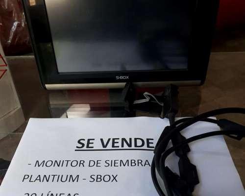 Monitor Sbox Siembra, Control 16 Lineas, Sensores 6 Leeds
