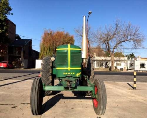 Tractor Deutz 50 año 60 Único con Equipo Hidráulico y Vigía
