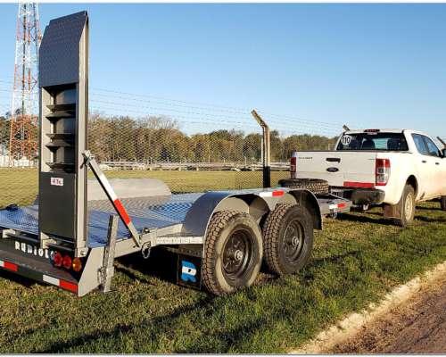 Acoplado Trailer P/transporte de Maquinas 4 TN. de 4 X2mts.