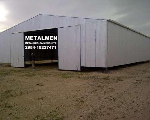 Galpones Metalurgica Menonita Metalmen