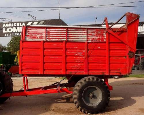 Acoplado Forrajero Volcador Hidraulico