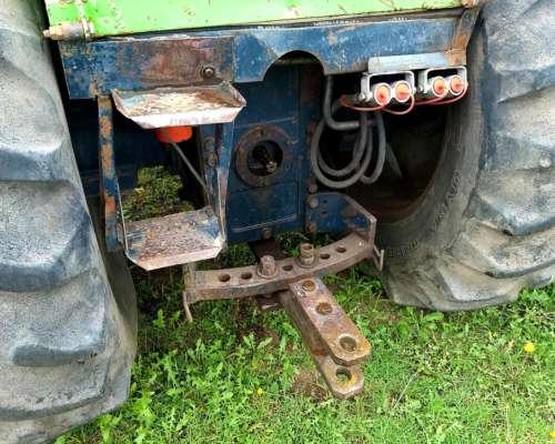 Tractor Deutz Fahr AX120 - con Rodados Duales