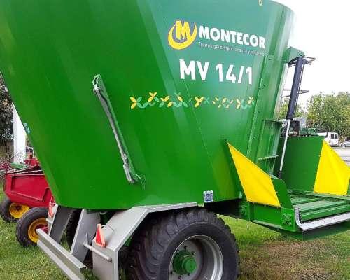 Mixer Vertical Montecor 14 MTS3 - con Balanza y Cubiertas