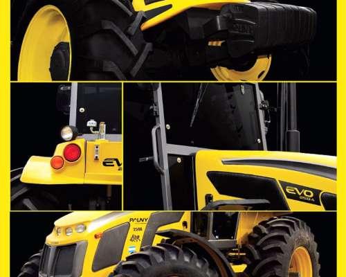Tractor Pauny 280 Evo, CUB 24-5-32 , Cignoli Hnos, Areuquito